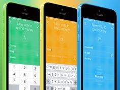 Financial App: three ways to manage money