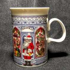 Dunoon Pottery Have An Inquiring Mind Dunoon Christmas Bears Mug