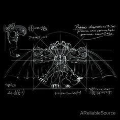 Bioshock Infinite Songbird Schematic  by AReliableSource