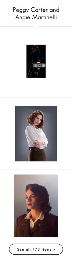 """""""Peggy Carter and Angie Martinelli"""" by music23260721-1 ❤ liked on Polyvore featuring marvel, costumes, people, pictures, superheroes, superhero halloween costumes, captain america costume, super hero halloween costumes, captain america halloween costume and super hero costumes"""