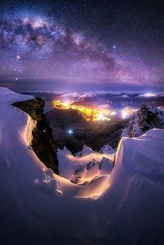 Milky Way over Queenstown New Zealand