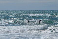 Surfer in Badia de Palma