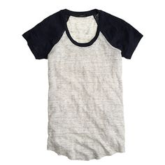 The most comfy looking tee ever. J.Crew