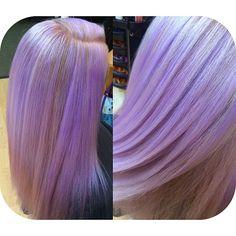 "94 Likes, 8 Comments - HAIR & MAKEUP BY KAYLA BOYER (@kayla_boyer) on Instagram: ""Pastel Purple Pearly color today ✨💜 #pravana #purple #pastelpurple #closeup #pretty #hairpost…"""