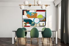 """""""In the Groove"""", mixed media on canvas. Organic and geometric forms mix with a gestural underpainting. Unique Wall Art, Unique Home Decor, New Artists, Local Artists, Ceramic Wall Art, Modern Wallpaper, Mixed Media Canvas, Something Beautiful, Modern Art"""