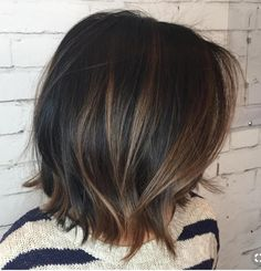 Cute cut - love the length but want more blonde