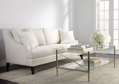 Jocelyn Coffee Table - Ethan Allen with Emerson sofa