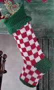free crochet pattern christmas stocking - Google Search