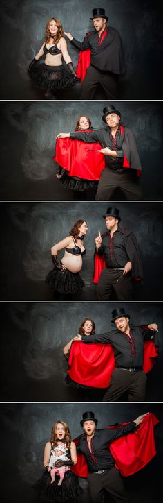 Heh. I like this couple and approve of these maternity photos.