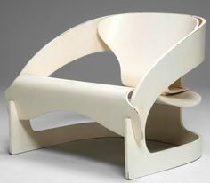 Joe Colombo Easy Chair, 1960s