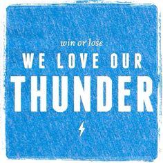 Always!!! #foreverthunderup