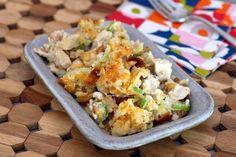 Crunchy, Flavorful Oven Chicken Salad