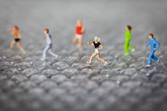 Surreal scenarios by macro photographer David Gilliver. The Guernsey-based finance worker, who began producing the little people series at the tail end of 2011, uses a DSLR camera and a macro lens to capture his unique snapshots of life in Smallville.