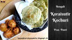 Koraishutir Kochuri or Matarshutir Kochuri is fried bread stuffed with peas with some other flavour. Koraishuti means peas and Kochuri means fried bread. Mashed Potatoes, Fries, Breakfast Recipes, Ethnic Recipes, Food, Whipped Potatoes, Smash Potatoes, Eten, Meals