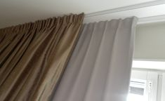 Glidskenor från Silent Gliss 1080 Curtain Inspiration, Interior Inspiration, Bedroom Inspiration, Room Interior, Interior Design, Scandinavian Bedroom, Window Treatments, Master Bedroom, Sweet Home