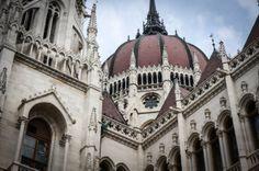 Hungarian Parliament Building Budapest Hungary.