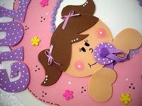 ♥ Blog Minhas Artes by Simone - Guirlanda bebê