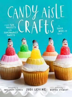 Book Buzz: Candy Aisle Crafts: Create Fun Projects with Supermarket Sweets