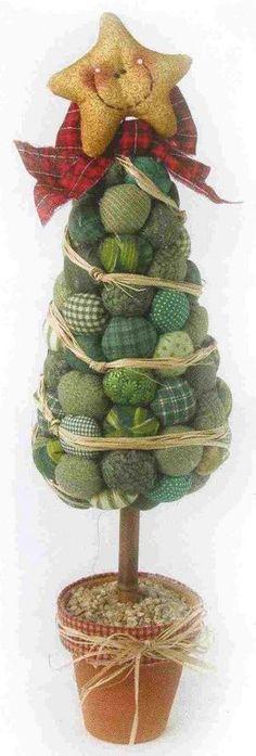 Новогодняя поделка елка