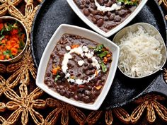 A deep flavorful and soulful black bean soup that is guaranteed to chase away your deepest winter blues.