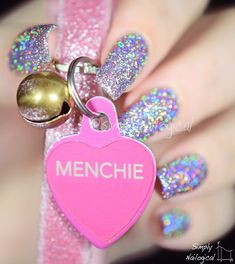 My Cat's first Nail Polish - Menchie the Cat! by simplynailogical