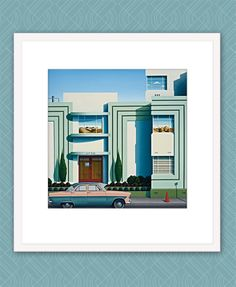 Avon by Hamish Allan - prints Christchurch New Zealand, New Zealand Landscape, Nz Art, Home Art, Avon, Art Deco, Architecture, Sheds, Kiwi