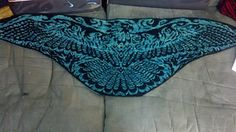Ravelry: Rise from the Ashes - Phoenix Shawl Mystery KAL pattern by Tania…