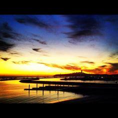 Sunset, El Granada