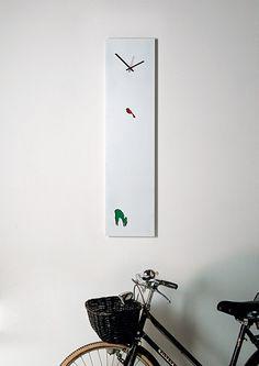 Cuckoo wall clock by Tommaso Bistacchi http://www.tommasobistacchi.com/cuckoo.html