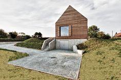 Holzhaus bauen mit Keller in Massivbauweise