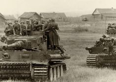 "adlerangriff: ""Wehrmacht soldiers on Tiger tanks """