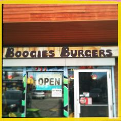 """WOW! WOW! WOW! """"Boogie's Burgers"""" - 403.230.7070 908 Edmonton Trail NE Mon – Sat 11 – 9 pm Sun 12 – 8 pm MENU: http://boogiesburgers.com/project/menu/  This diner-style restaurant boasts a variety of burgers, ranging from a large Keith's burger topped with an egg to a quarter pounder loaded with cheese, bacon and mushrooms. The secret to the burgers is in the sauce, making this a popular burger joint that has been around for three decades. Chicken burgers, hot dogs, milkshakes, onion…"""