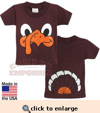 hokie bird kids t-shirts.  i want one for myself!