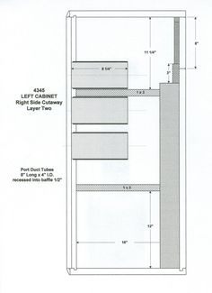 4345 Enclosure Plans New Drivers, Box Design, Coding, How To Plan, Boxes, Circuit Diagram, Speakers, Programming