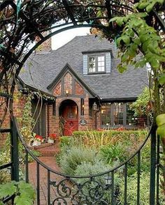 Stone fences and pathways on pinterest stone fence Tudor style fence
