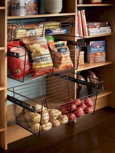 Smart kitchen cabinet organization ideas 34