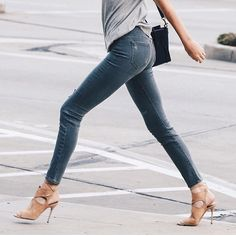 SnapWidget | Good Morning Friday! #Striding towards the weekend. #woohoo #jeans #longlegs #fordays #fabulousheels #aquazurra #suedeheels from @aquazzura #simplechic #grey #slouchytee #streetstyle #OOTD #chichappens #easystyle #fashioninspo #fashionblog pic via @instanaimabarcelona #lovesit
