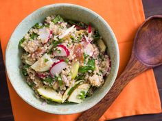 We love dishes that are easy to make in bulk, hold up well in the fridge, and pack easily into single containers. I'm talking hearty grain and pasta salads, saucy bean dishes, and stewed meats or vegetables: simple, healthy, all-your-food-groups-in-one-bowl fare. From refreshing cold soba noodles to tabbouleh-inspired quinoa to a bacon-studded chickpea salad to quick pressure cooker chicken stew, we've got 31 recipes to shake up your lunch routine.