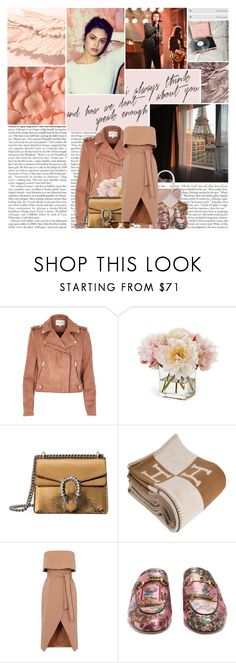 """""""Had another talk about where it's going wrong But we're still young We don't know where we're going But we know where we belong..."""" by youtoo2 ❤ liked on Polyvore featuring Gucci, River Island, Diane James, Hermès and Thierry Lasry"""