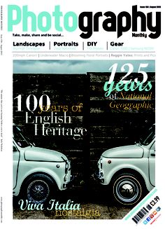 Our Photography Monthly August issue is almost here! Top stories: 125 years of National Geographic, we relive Italian nostalgia, plus we step into the shoes of the Gallagher brothers for an Oasis themed shoot...