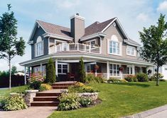 Traditional Farmhouse Plan | Family Home Plans Blog