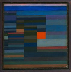 Paul Klee - Feuer Abends, 1929