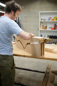 building our bent plywood display | Flickr - Photo Sharing!