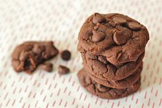 Black bean chocolate cookies -- healthy and stealthy, from the Kitchen Ninja