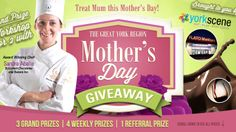 You should enter Mother's Day Sweepstakes. There are great prizes and I think one of us could win!
