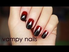 Vampy Nails for Fall! | easyNeon