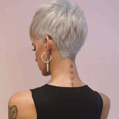 Thin Hair Haircuts, Best Short Haircuts, Messy Hairstyles, Hairdos, Short Hair Cuts For Women, Short Hairstyles For Women, Short Hair Styles, Blond, Best Pixie Cuts
