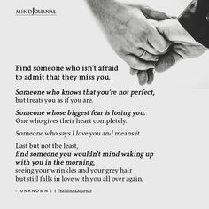 Losing Someone, Find Someone Who, Losing You, Words Quotes, Wise Words, Sayings, Afraid To Love Quotes, Miss You Babe, Stoicism Quotes