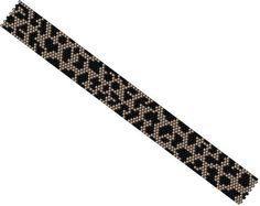 Loom Pattern  Leopard Bracelet  Beaded Cuff Bracelet от MarmosaArt