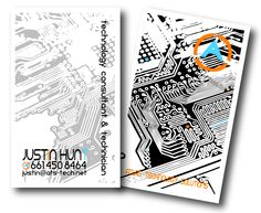 Business Cards for Atlas Technology Solutions